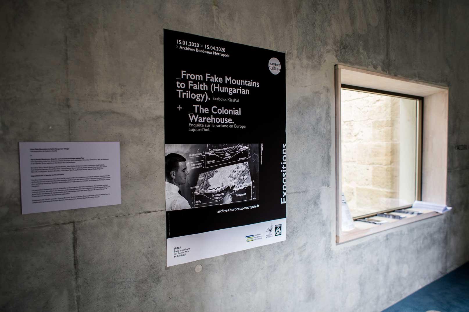 Poster entrance